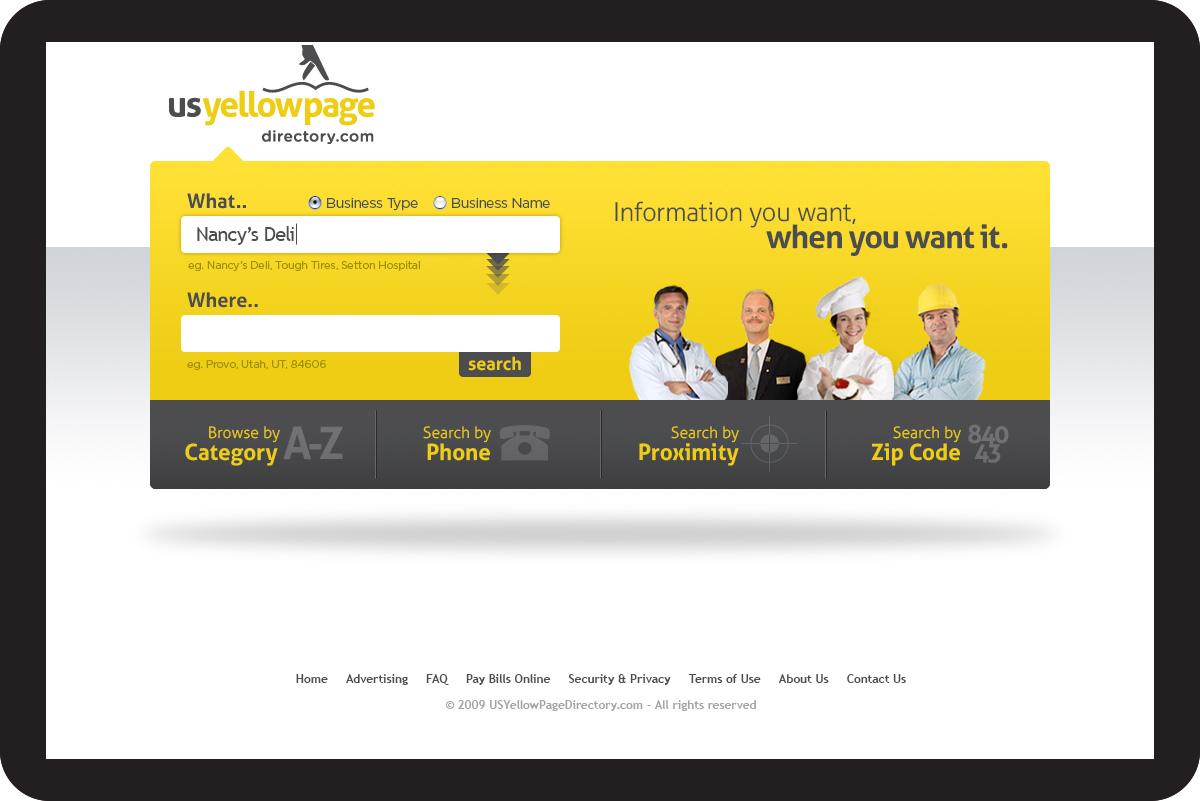 US Yellowpage Directory | Vojo Design