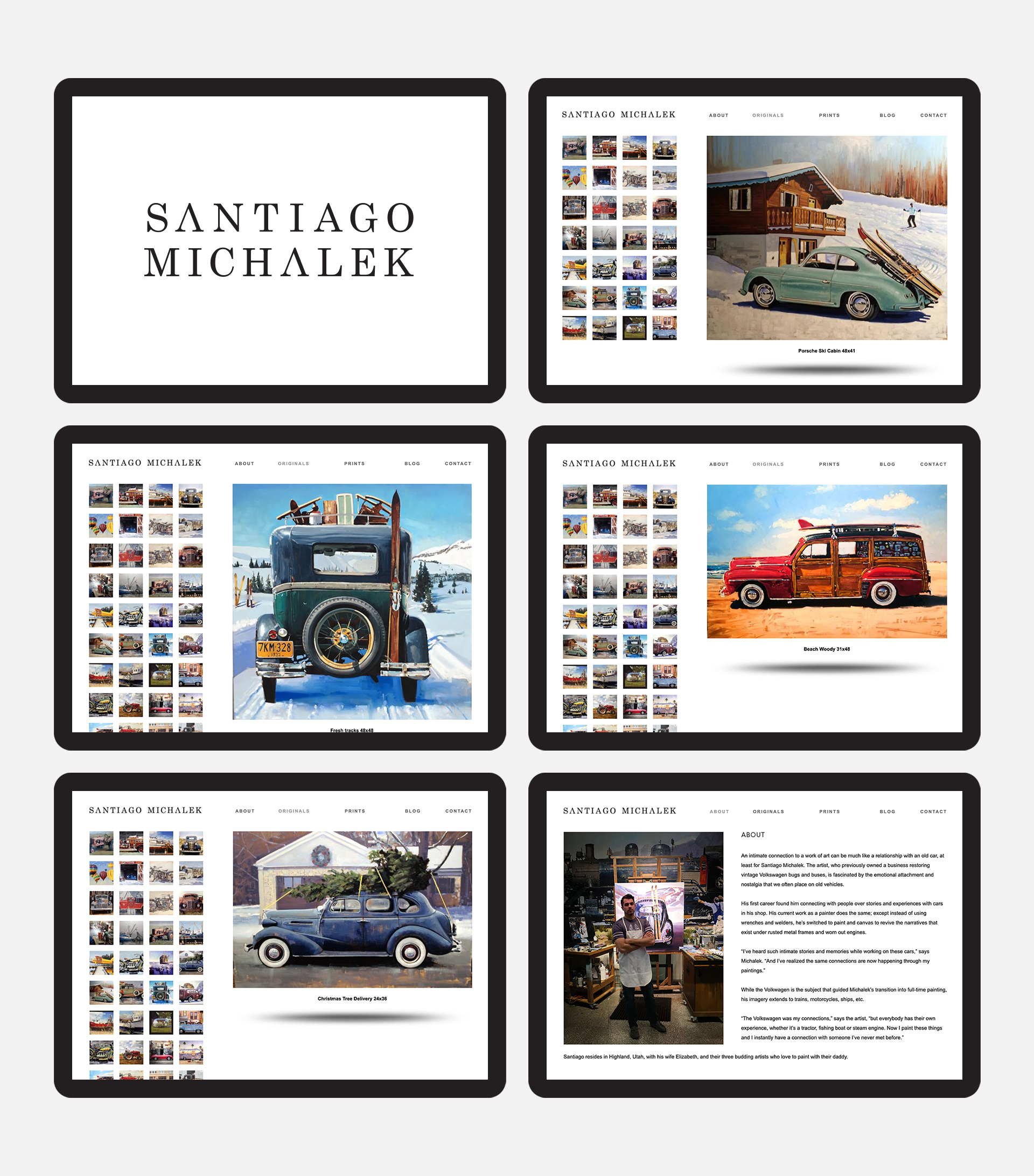 Santiago Michalek Artist